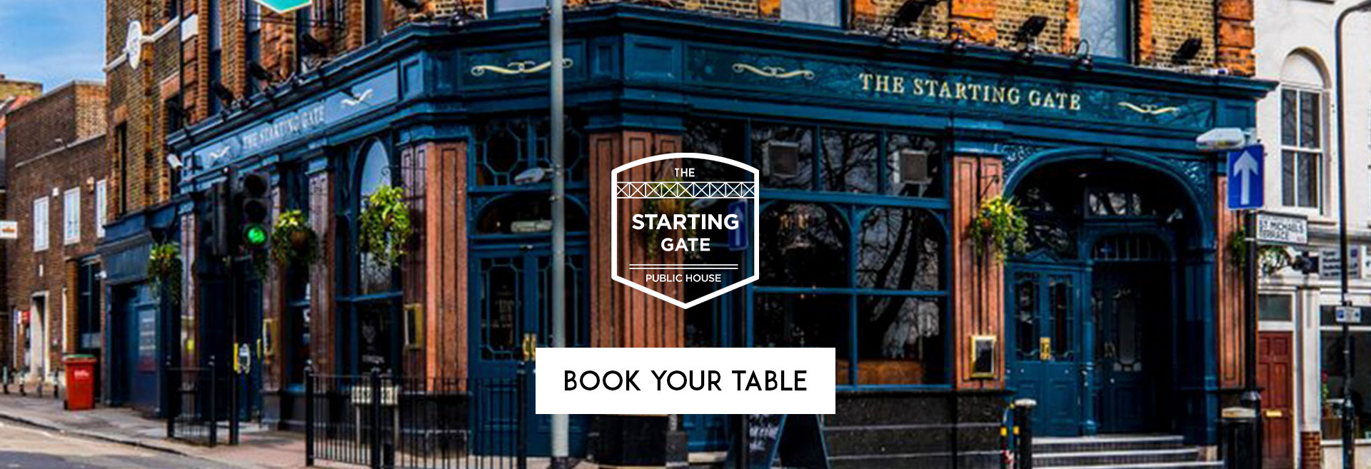 Book Your Table at The Starting Gate